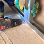 декоративный монтажный профиль для монтажа акриловых, виниловых, ламинированных стеновых панелей ГКЛ, СМЛ, ГВЛВ