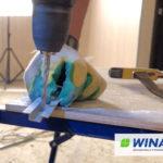 декоративный монтажный омега профиль для монтажа акриловых, виниловых, ламинированных стеновых панелей ГКЛ, СМЛ, ГВЛВ