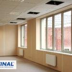 Трудногорючие и негорючие огнестойкие стеновые панели ГКЛ, СМЛ, ГВЛВ для отделки стен производственных помещений, офиса, медицинских центров