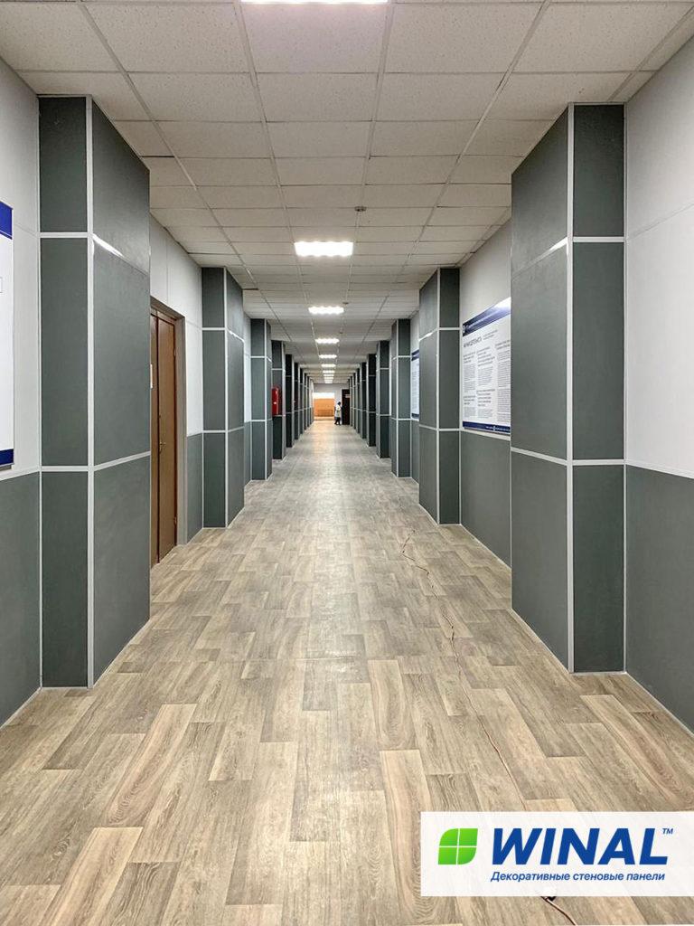 Стеновые панели WINAL ГКЛ, СМЛ, ГВЛВ для отделки стен производственных помещений, офисных помещений, медицинских центров