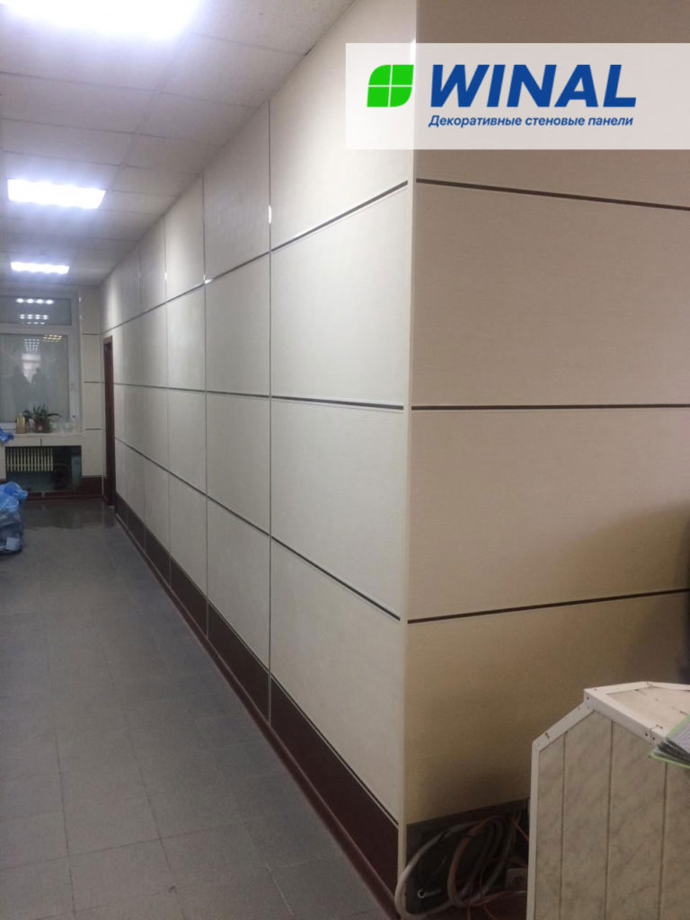 Панели для отделки стен акриловые, виниловые, ламинированные, негорючие, огнестойкие WINAL